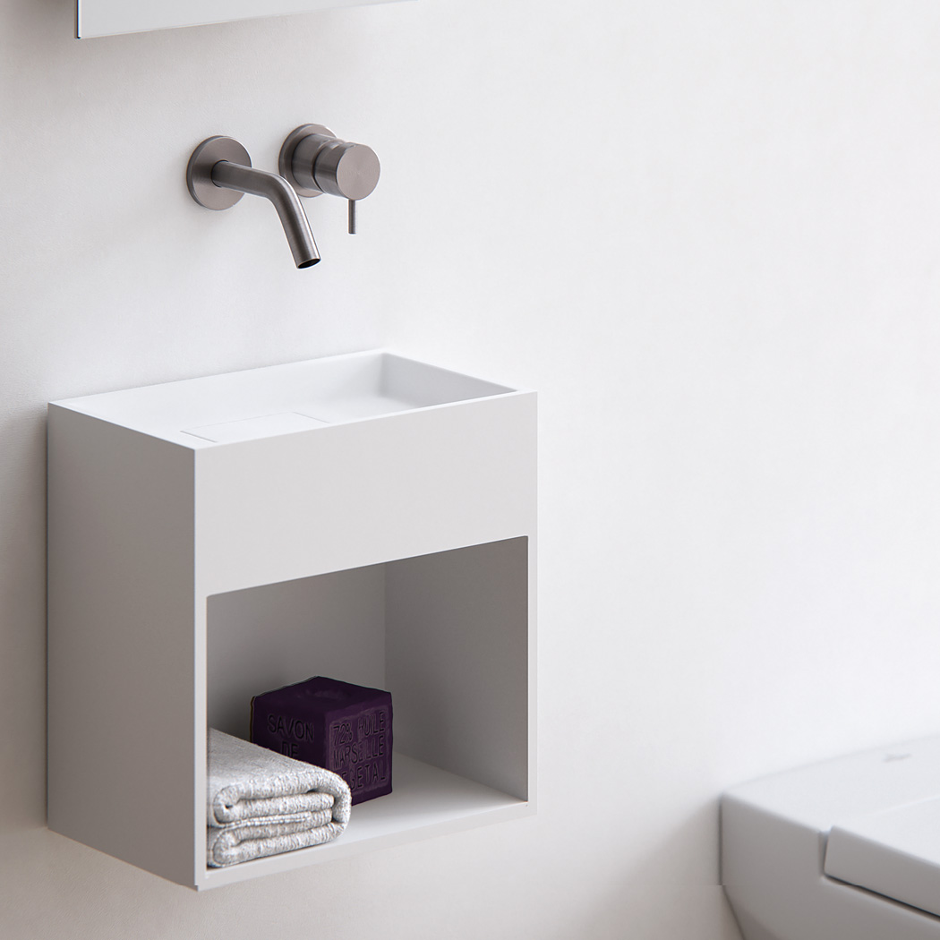 Ongekend Baths by Clay - Block - Solid surface toilet fontein op maat AB-28