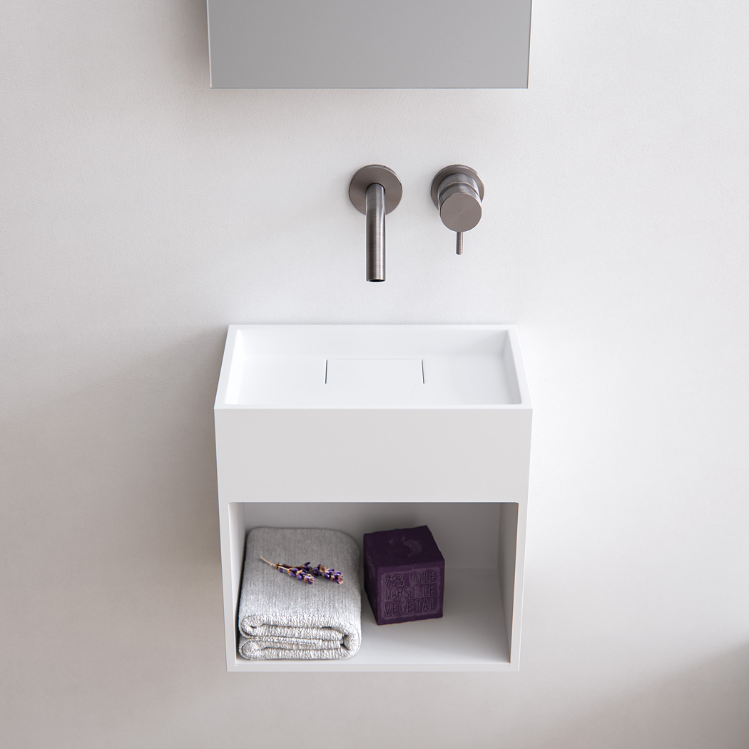 Wonderbaarlijk Baths by Clay - Block - Solid surface toilet fontein op maat TE-75