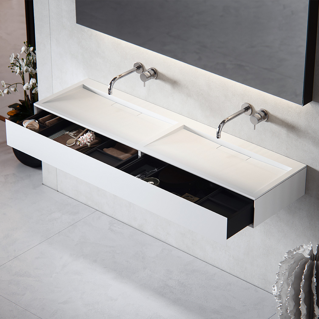 Baths by Clay - Flow Made to measure Solid Surface washbasin
